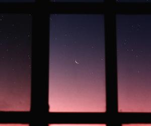 beautiful, moon, and moonlight image