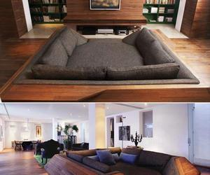 couch, house, and sofa image