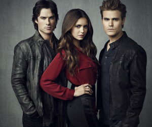 vampires, tvd, and love image
