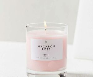 candle, pink, and pastel image