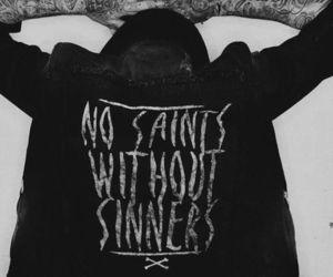 tattoo, boy, and saint image
