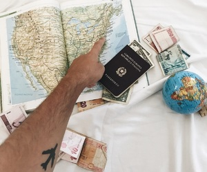bed, book, and dollars image