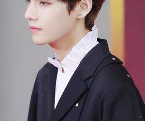 handsome, v, and bts image