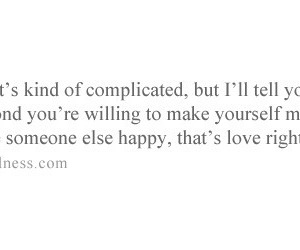 complicated and true love image