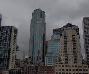 aesthetic, city, and cloud image