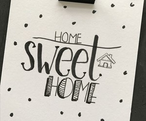 diy, draw, and home sweet home image