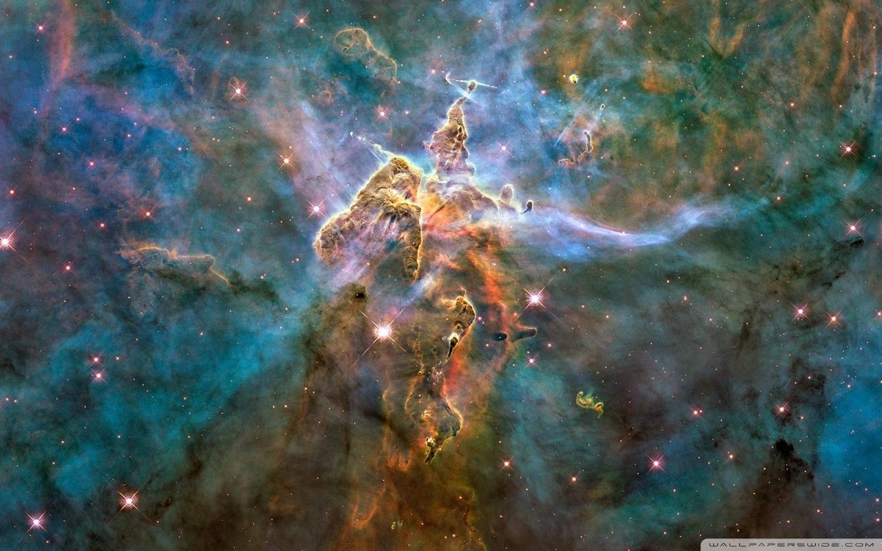 nebula, stars, and galaxy image