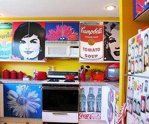 coke, decoration, and kitchen image
