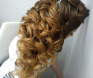 braid, hairs, and style image