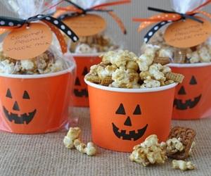 Halloween, popcorn, and tumblr image