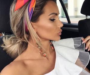 chic, haïr, and makeup image