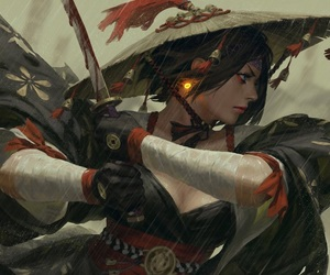 art, fantasy, and guweiz image