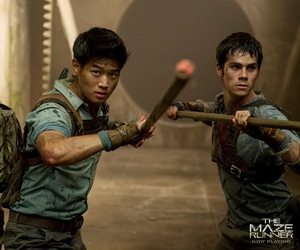 the maze runner, thomas, and Minho image