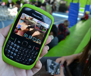blackberry, phone, and cute image