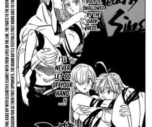 nanatsu no taizai, anime, and ban image