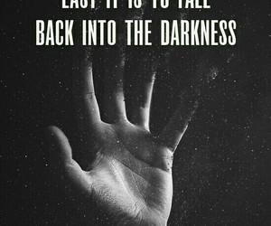 dark, weak, and words image