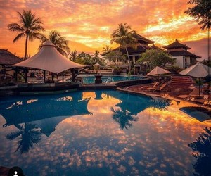bali, paradise, and travelling image