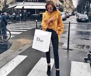 dior, girl, and fashion image