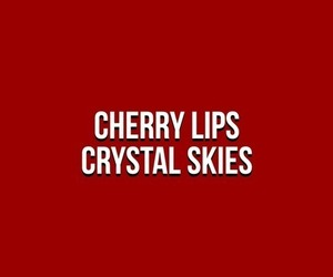 quotes, aesthetic, and cherry image
