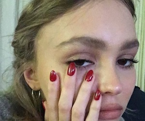 model, pretty, and lily rose depp image