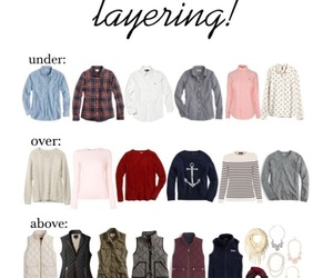 fall, j crew, and layering image