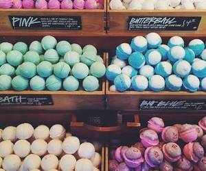 aesthetic, inspiration, and bath bombs image