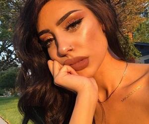 eyeshadow, glow, and hair image