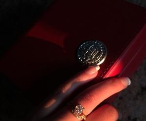 gold, nails, and omega image