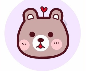 bear, couple, and cute image