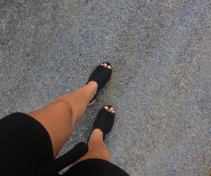 black, legs, and tan image