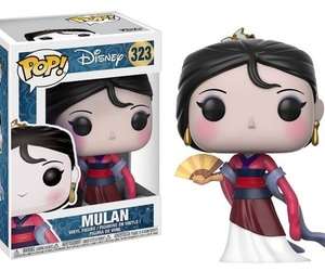 mulan, princess, and funko image