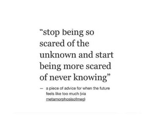 horror, quotes, and scared image