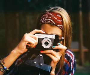 photography, girl, and vintage image