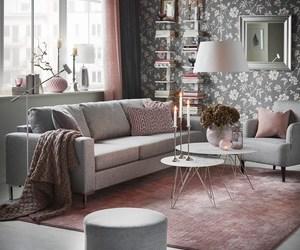 decor, grey, and home image