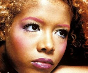 kelis, black woman, and curly hair image