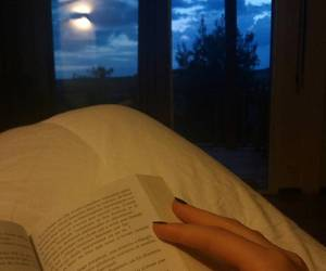 book, calm, and evening image