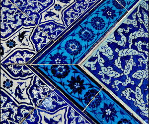tiles, beautiful, and blue image