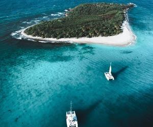 Island, sea, and travel image