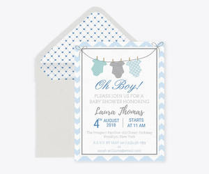 etsy, diy party invitation, and baby shower boy image