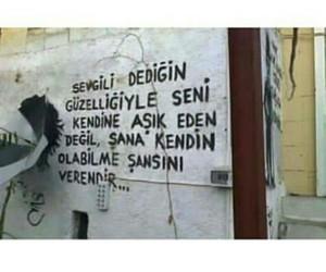 türkçe sözler, şiir sokakta, and şiir duvarda image
