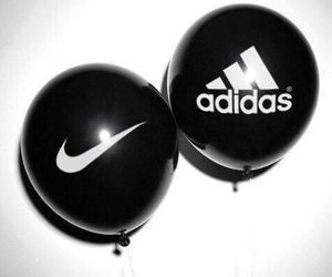 adidas, fun, and balloons image