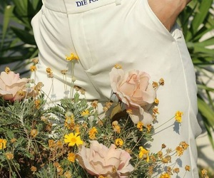 flowers, fashion, and dior image