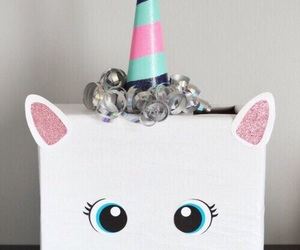 diy, box, and unicorn image