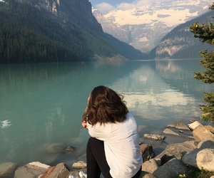 canada, mountains, and lakes image