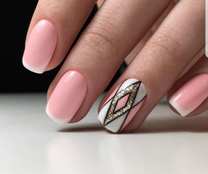 nails, beautiful, and art image