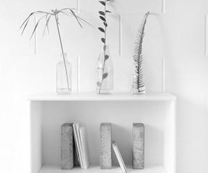 bookshelf, interior, and minimal image