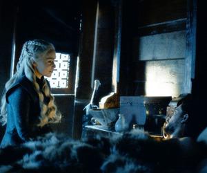 game of thrones, jon snow, and emilia clarke image