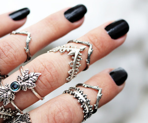 bohemian, boho, and jewelry image