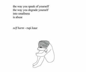 quotes, poem, and sad image