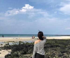 beach, ulzzang, and ulzzang girl image